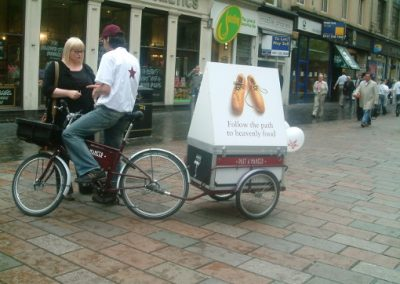 PRET A MANGER with Pedicab